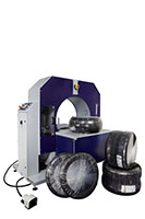 Compacta Tire Wrapper Automatic Hybrid Rotating Ring Wrapping Machinery - 17