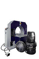 Compacta Tire Wrapper Automatic Hybrid Rotating Ring Wrapping Machinery - 18