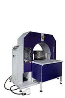 Compacta Tire Wrapper Automatic Hybrid Rotating Ring Wrapping Machinery - 19