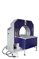 Compacta Tire Wrapper Automatic Hybrid Rotating Ring Wrapping Machinery - 20