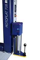 Rotoplat 708 Semi-Automatic Turntable Stretch Wrapping Machinery - 13
