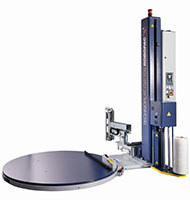 Technoplat 708 CW Semi-Automatic Turntable Stretch Wrapping Machinery - 3