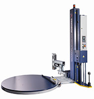 Technoplat 708 CW Semi-Automatic Turntable Stretch Wrapping Machinery - 4