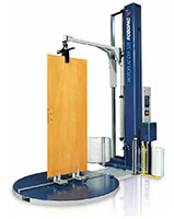 Rotoplat 508 DW Semi-Automatic Door and Window Turntable Stretch Wrapping Machinery