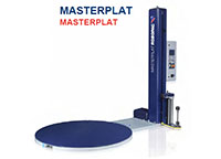 Masterplat Semi-Automatic Turntable Stretch Wrapping Machinery - 8