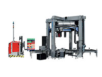 Genesis Thunder Vertical Rotating Ring Stretch Wrapping Machinery - 7