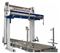 Helix 1, 3, 4, and 4/2 Automatic Rotating Arm Stretch Wrapping Machinery - Outside Dispenser