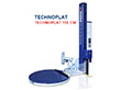 Technoplat 708 CW Semi-Automatic Turntable Stretch Wrapping Machinery
