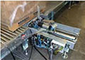 Helix 3 and 4 Automatic Rotating Arm Stretch Wrapping Machinery - Spring/Ring Clamp with Horizontal Movement
